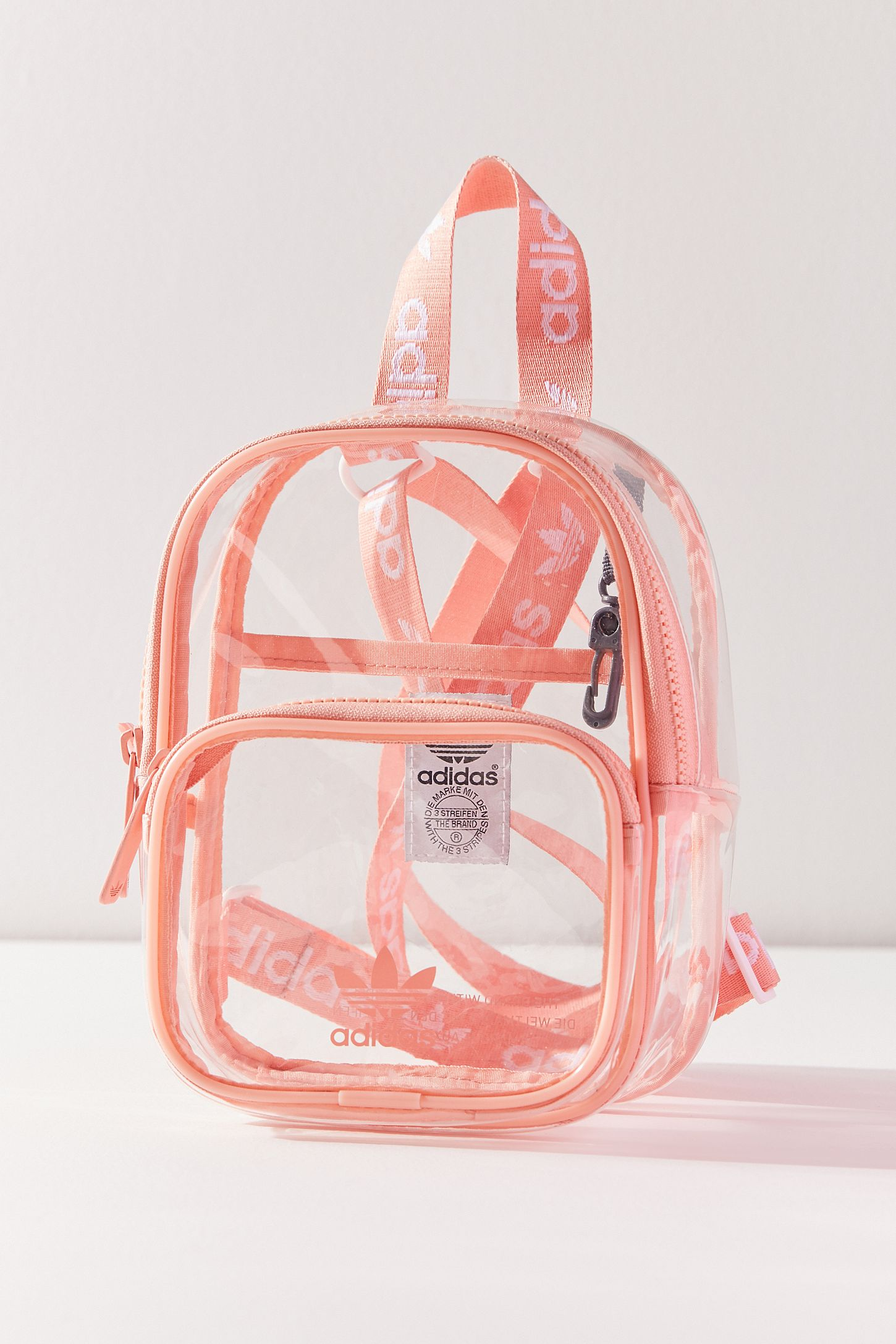 74d6971d507 Slide View  3  adidas Originals Clear Mini Backpack