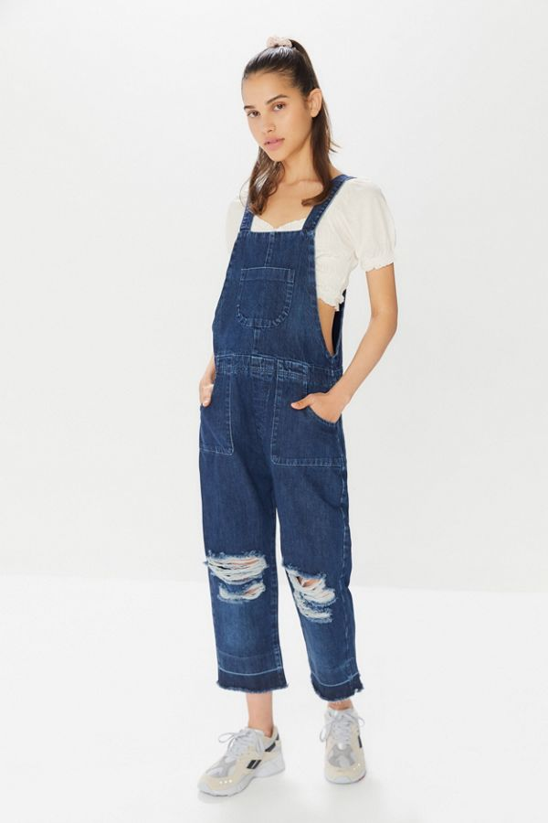 e136a2a7cf9c Slide View  1  One Teaspoon Lonestar Distressed Denim Overall
