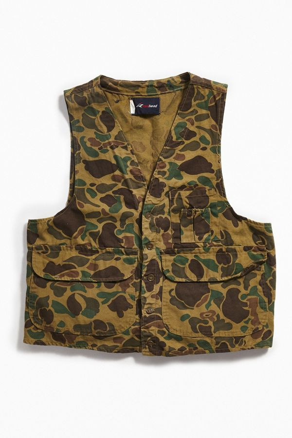 75c76f2d37048 Vintage RedHead Camo Hunting Vest | Urban Outfitters