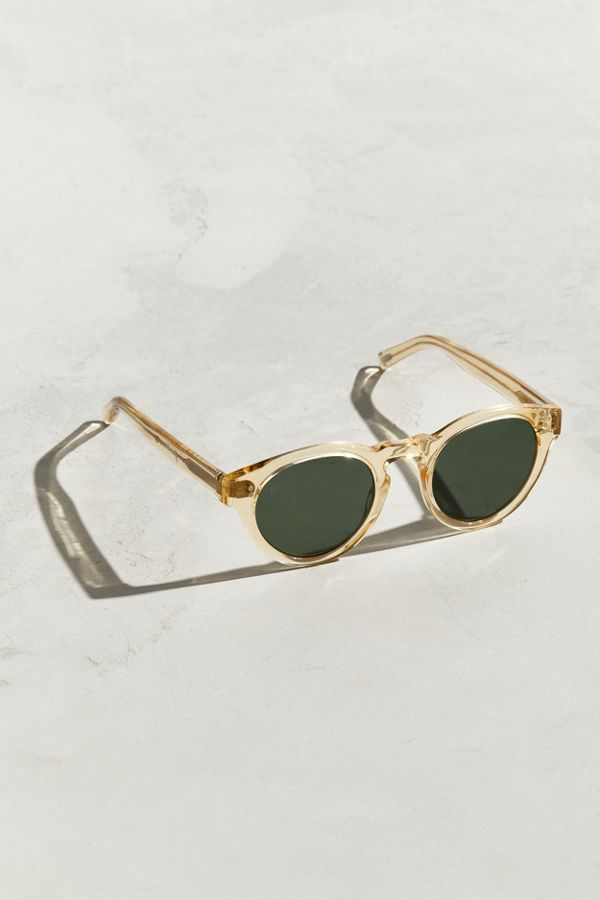 6beca1fc55fb RAEN Champagne Parkhurst Sunglasses | Urban Outfitters