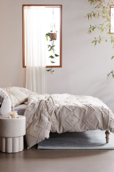 Bomi Tufted Duvet Cover Urban Outfitters