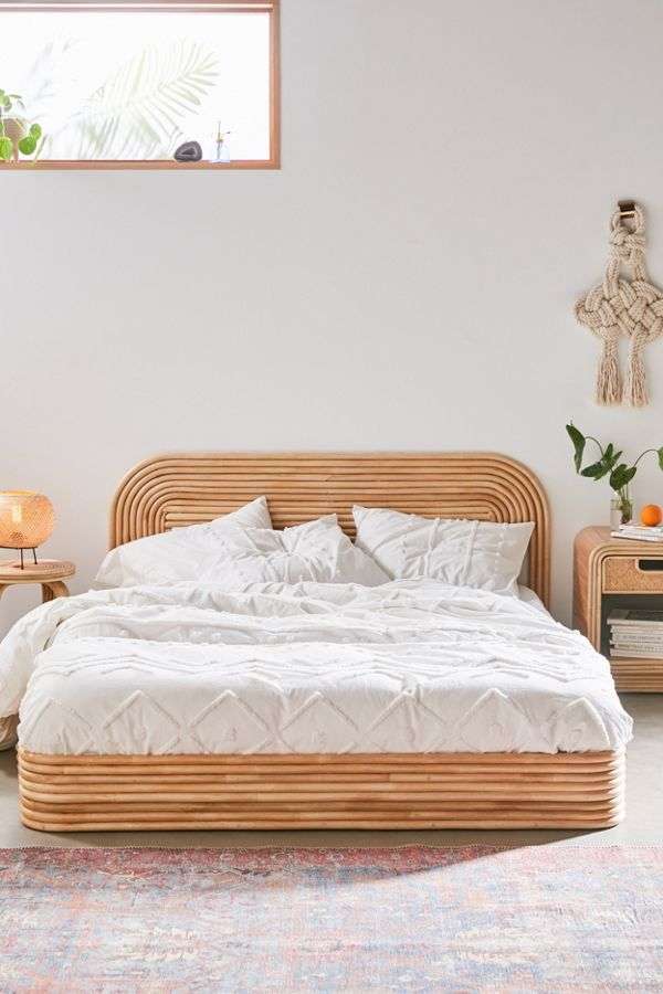 Slide View: 1: Bomi Tufted Duvet Cover