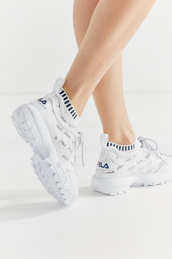 fe03f0cd04 FILA Disruptor Monomesh Sockfit Sneaker