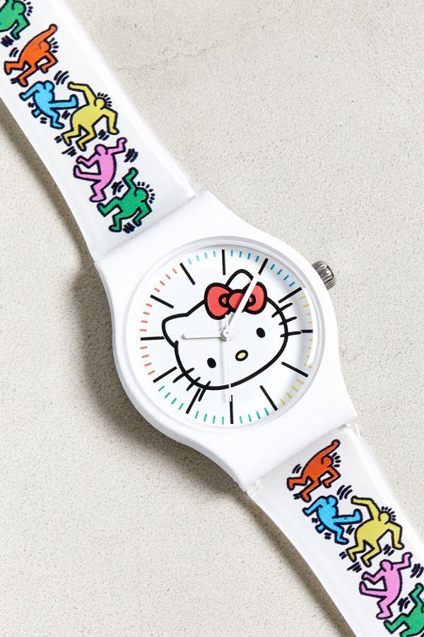 31c7b5ecc Hello Kitty X Keith Haring Watch | Urban Outfitters