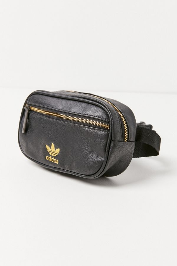 Slide View  2  adidas Originals Faux Leather Belt Bag