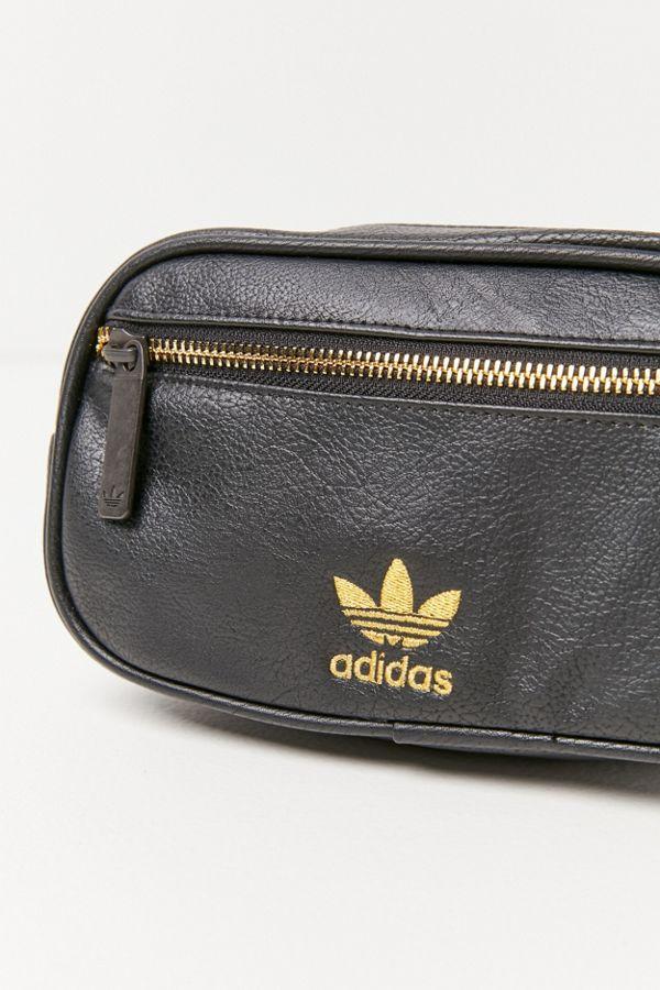 93a238f73c Slide View  4  adidas Originals Faux Leather Belt Bag