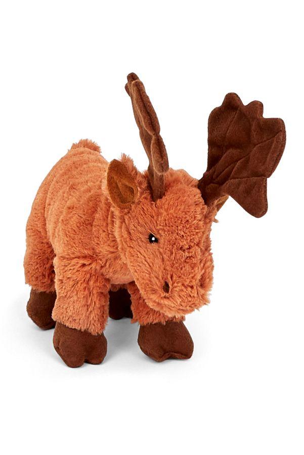 Slide View: 1: BARK Monty the Moose Dog Toy