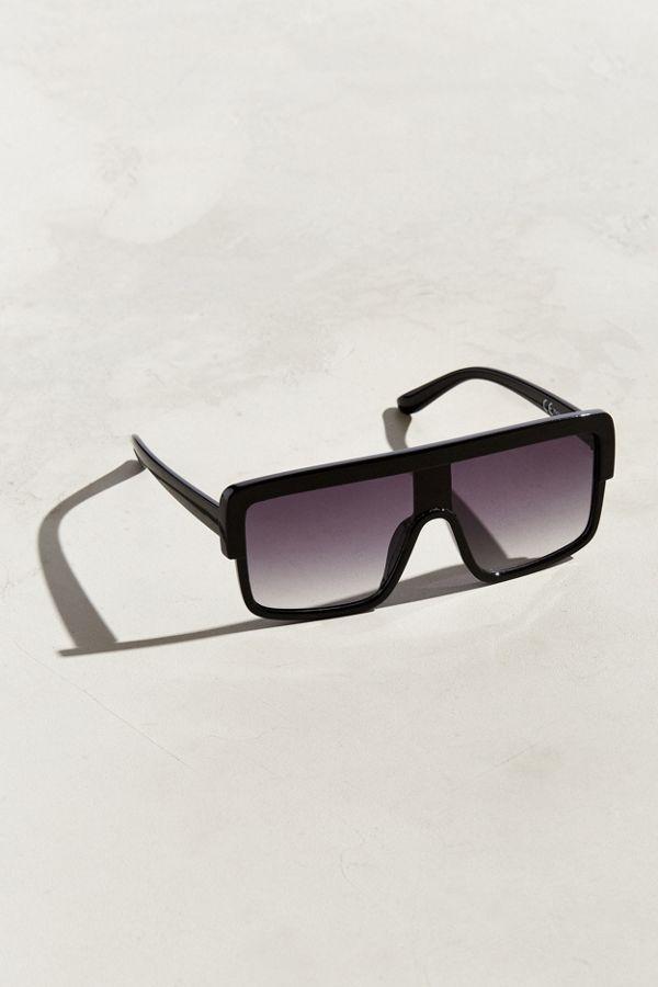 aeda69970f341 UO Flat-Top Square Visor Sunglasses