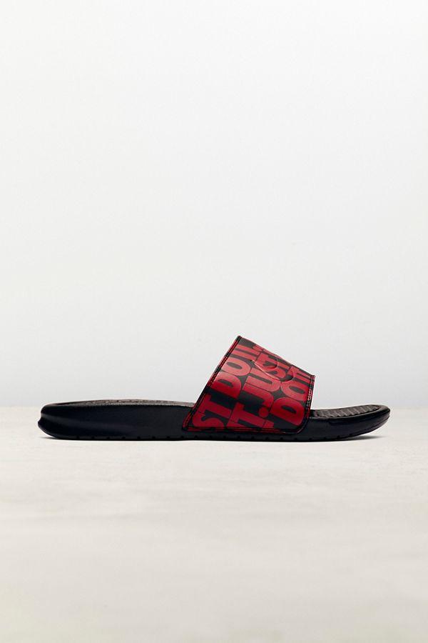 3751836b Nike Benassi JDI Print Slide Sandal   Urban Outfitters