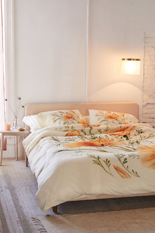 Slide View: 1: Shealeen Louise For Deny California Poppies Duvet Cover