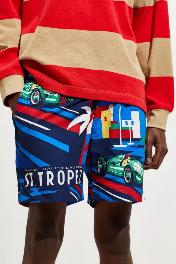 de0e59bbce Polo Ralph Lauren Monaco Print Swim Short | Urban Outfitters