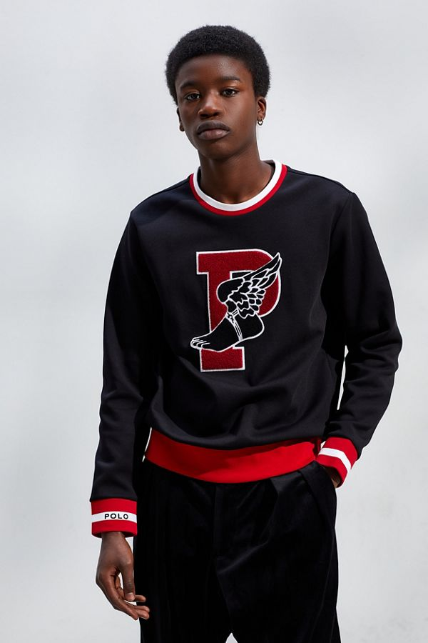 3bd2a2c3c Polo Ralph Lauren P-Wing Crew Neck Sweatshirt | Urban Outfitters