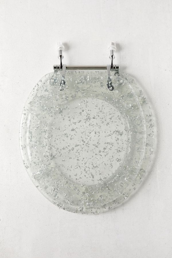 Cool Metallic Flecked Toilet Seat Inzonedesignstudio Interior Chair Design Inzonedesignstudiocom