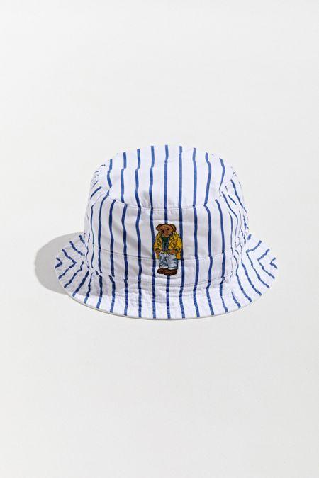 4f5ae10e2e8b5 Polo Ralph Lauren Poplin Bucket Hat