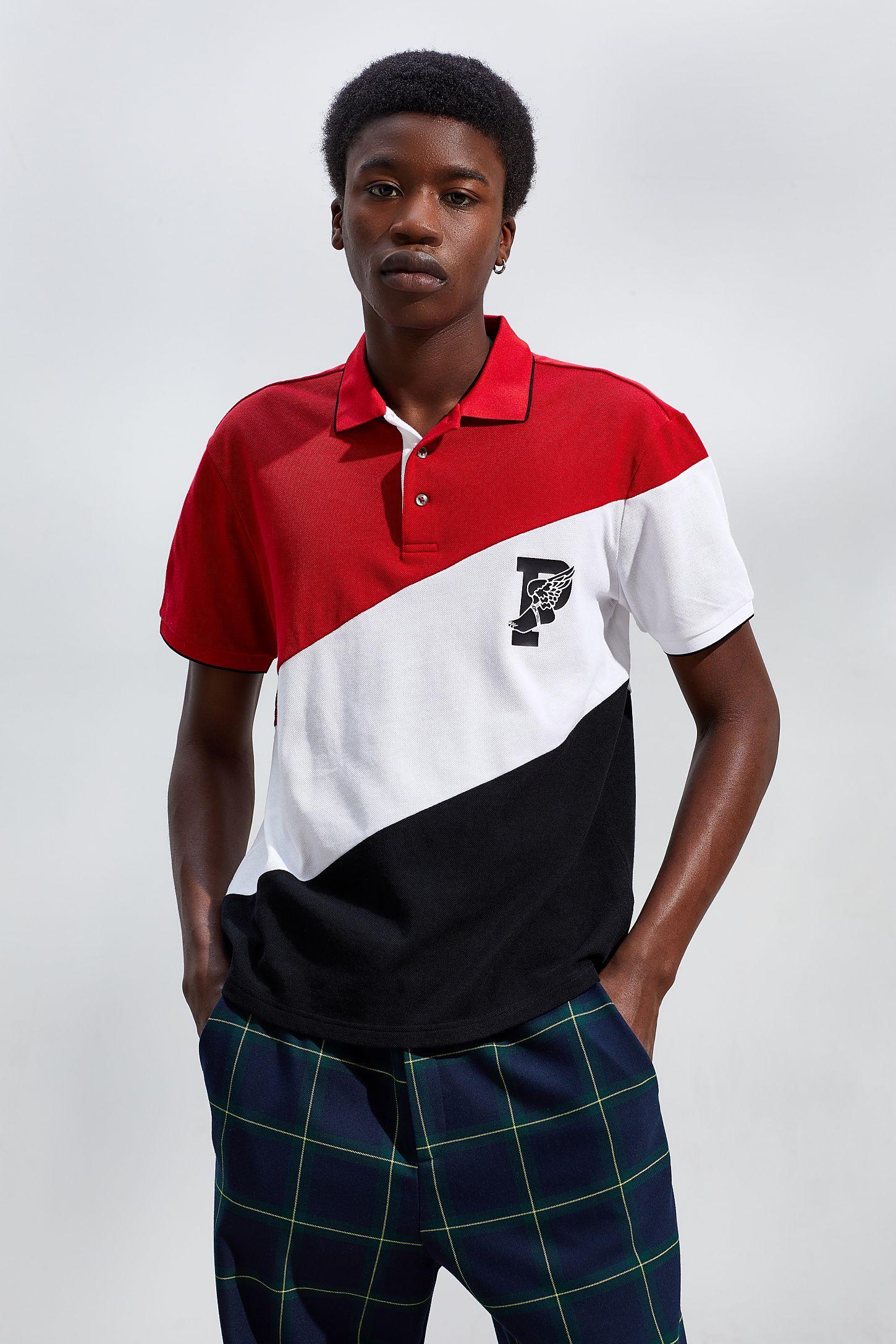 Ralph Wing Diagonal Polo P Blocked Lauren Shirt F1JlKc