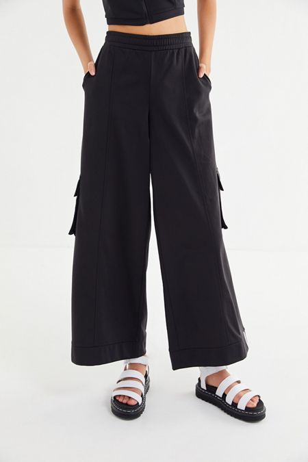 promo code c97d2 6f2c6 adidas Originals Reveal Your Voice Tricot Wide Leg Track Pant