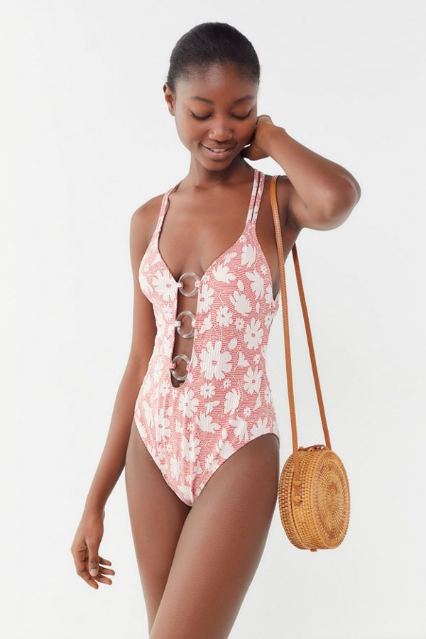 103c1e145fcaa Out From Under Paia Plunging One-Piece Swimsuit | Urban Outfitters