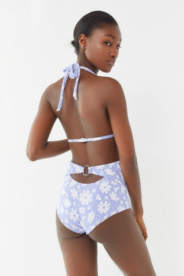 1c360c26c5e Out From Under Tawny Floral High-Waisted Bikini Bottom