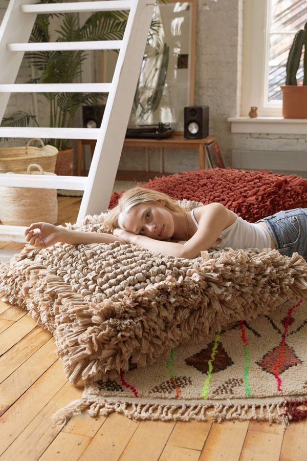 Slide View: 1: Paloma Looped Floor Cushion