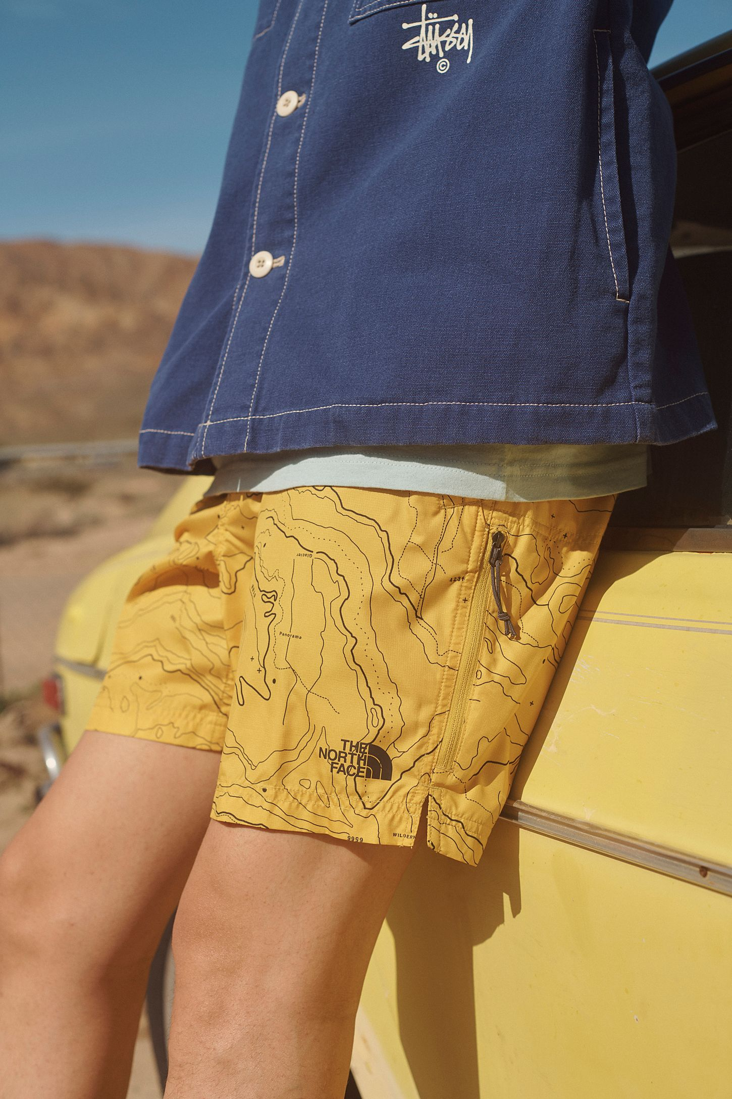 bdb2164f9 The North Face UO Exclusive Topography Class V Belted Short