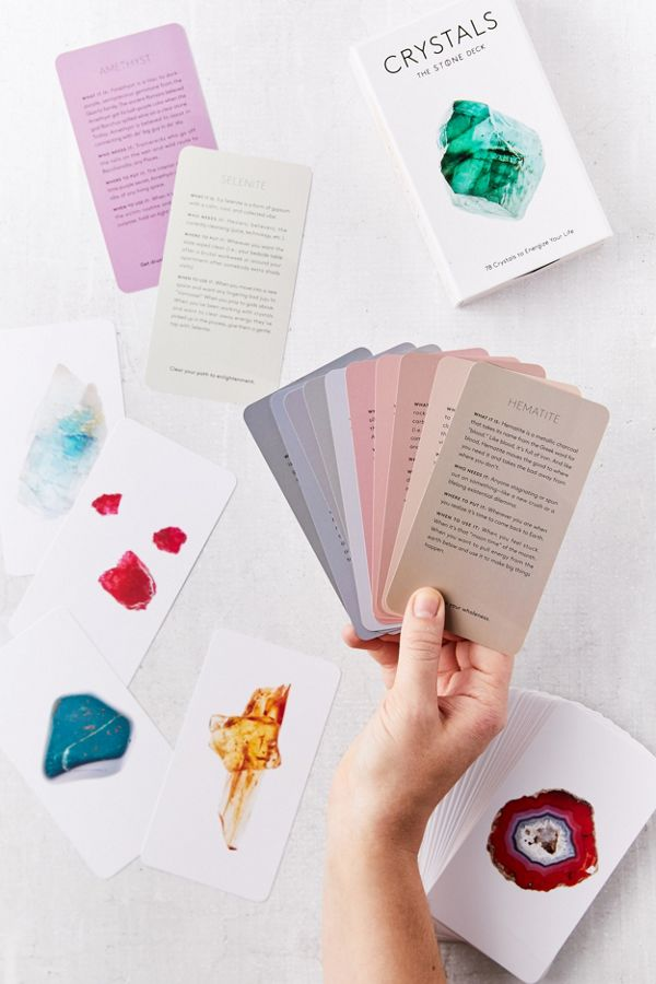 Crystals The Stone Card Deck