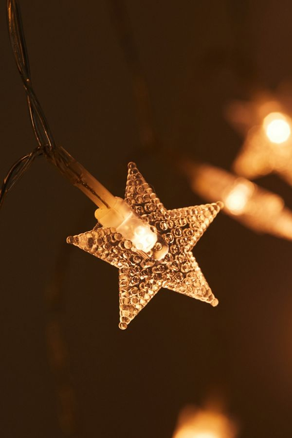 finest selection 0056e a9f13 Star Curtain String Lights