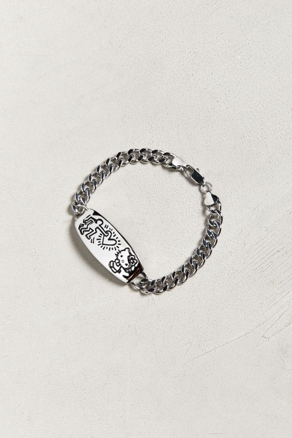 c1ba0a12c Hello Kitty X Keith Haring Heart Bracelet | Urban Outfitters