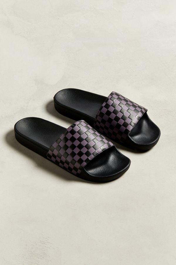b324dacc858 Slide View  1  Vans Checkerboard Slide Sandal