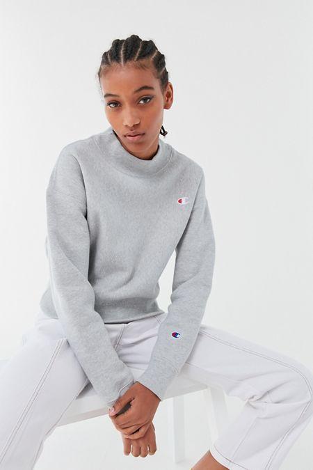 Champion Reverse Weave Mock-Neck Sweatshirt 1352b992c