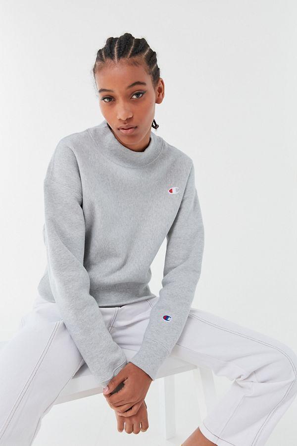 9034b8f84c23 Champion Reverse Weave Mock-Neck Sweatshirt