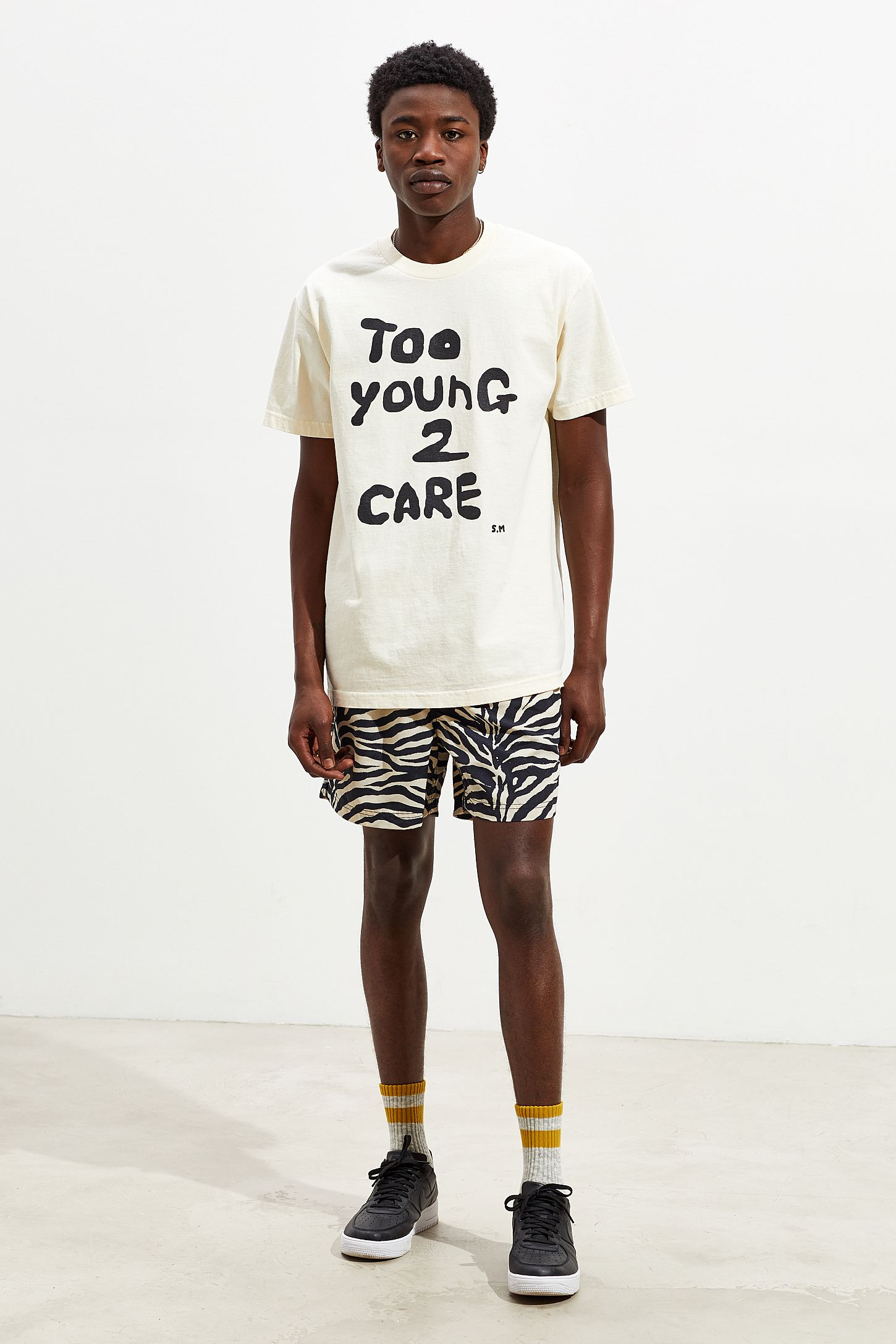 b76842c24 Skim Milk Too Young 2 Care Tee   Urban Outfitters