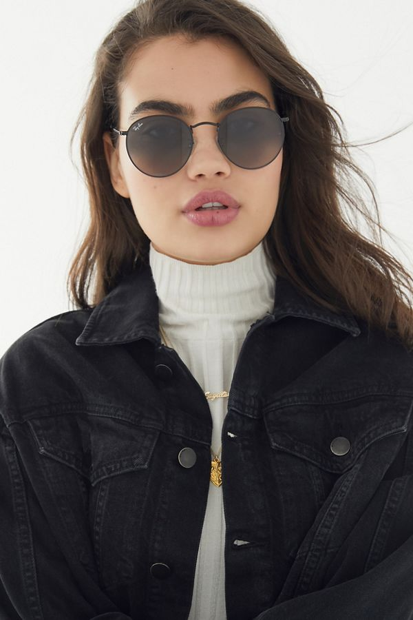 Ray Ban Classic Round Metal Sunglasses