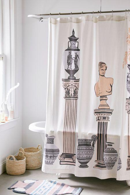 Greecian Still Life Shower Curtain