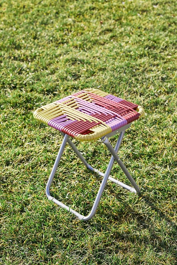 Outstanding Woven Outdoor Stool Urban Outfitters Ncnpc Chair Design For Home Ncnpcorg