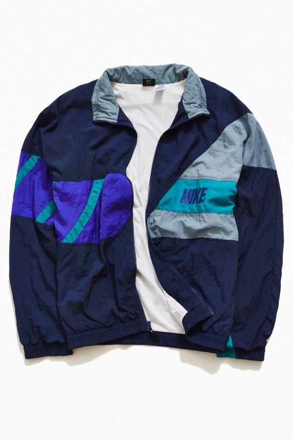 8921a84aa3dcb5 Vintage Nike  90s Patterned Windbreaker Jacket
