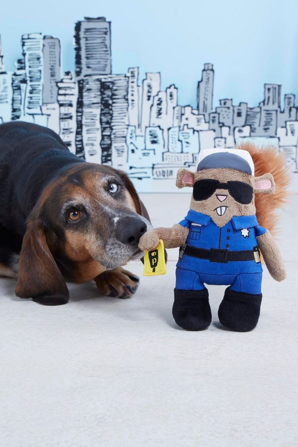 Slide View: 3: BARK Officer Pupke Dog Toy