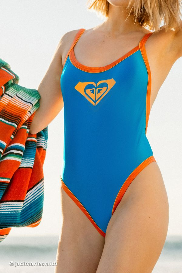 806b546305 Roxy UO Exclusive Open-Back One-Piece Swimsuit | Urban Outfitters