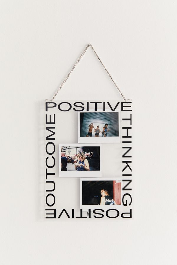 Graphic Acrylic Hanging Picture Frame by Urban Outfitters