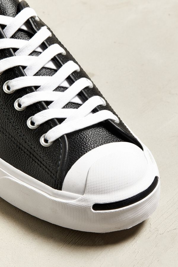 d736836c193f4b Slide View  5  Converse Jack Purcell Leather Low Top Sneaker