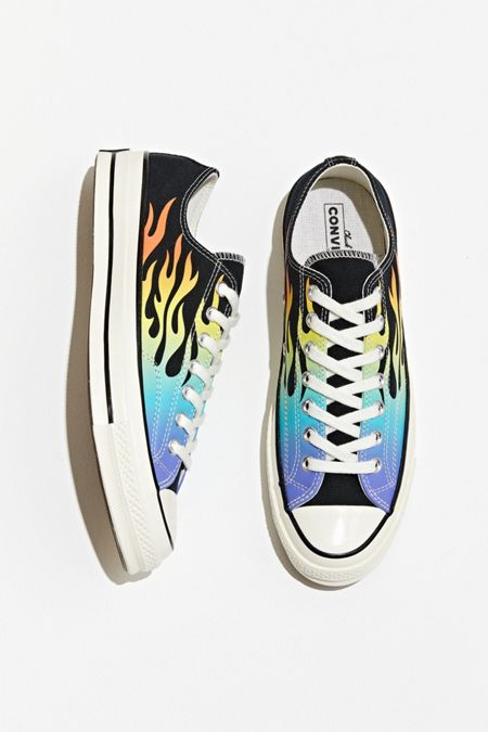 7521d9f0d7ba70 Converse Chuck 70 Neon Print Low Top Sneaker