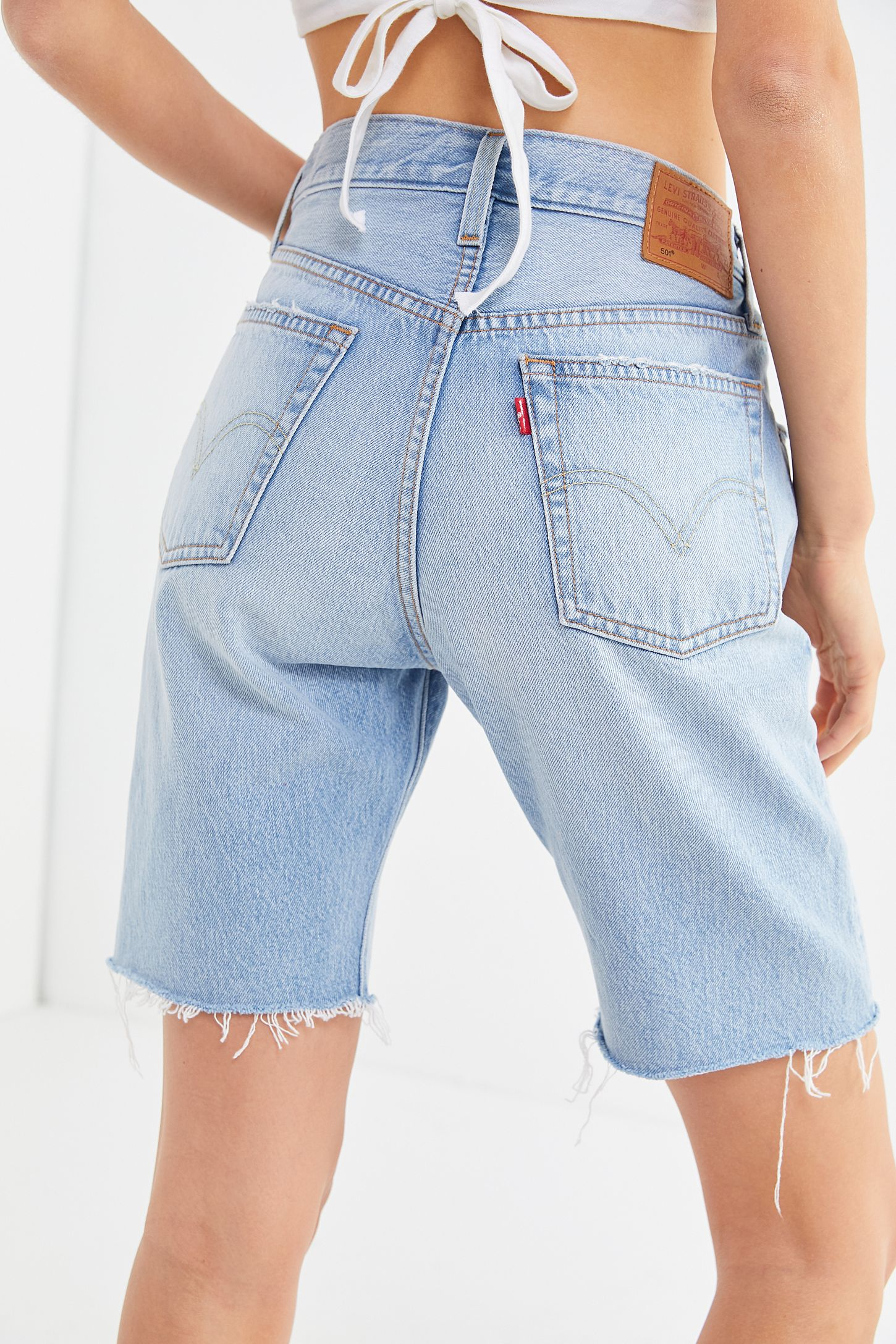 09783b0b Levi's 501 Slouch Denim Bermuda Short | Urban Outfitters