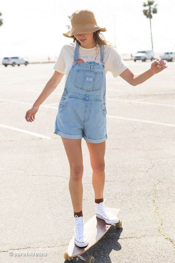 8478fa2d2ca Slide View: 1: Levi's Vintage Denim Shortall Overall – Short And Sweet