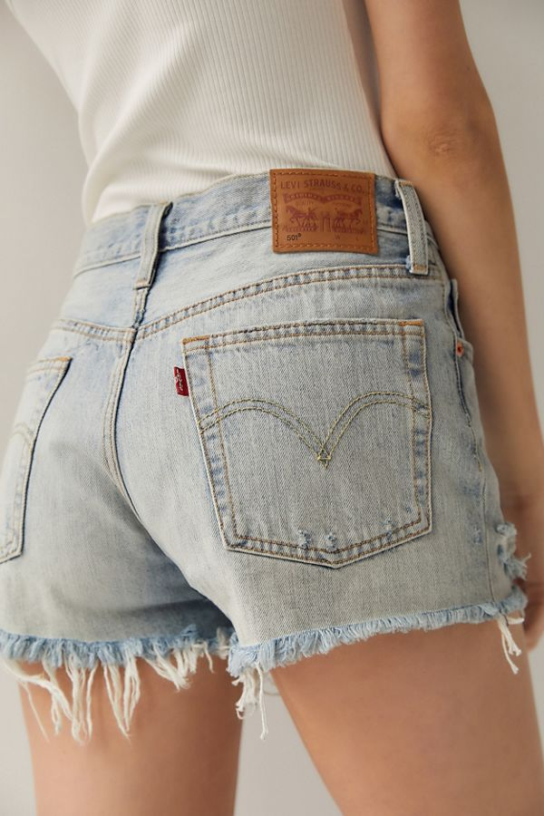 c8cae6a5 Levi's 501 Mid-Rise Denim Short – Waveline | Urban Outfitters
