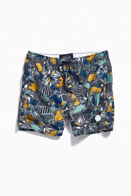 6de68194bc Native Youth Geo Floral Swim Short
