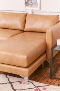 Superb Chamberlin Recycled Leather Sofa Urban Outfitters Pabps2019 Chair Design Images Pabps2019Com