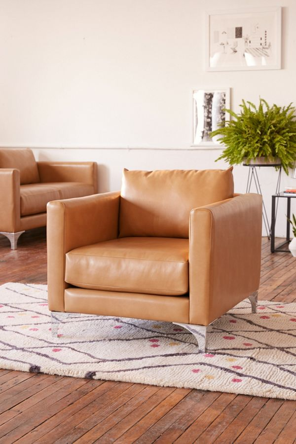 Astounding Chamberlin Recycled Leather Chair Pabps2019 Chair Design Images Pabps2019Com