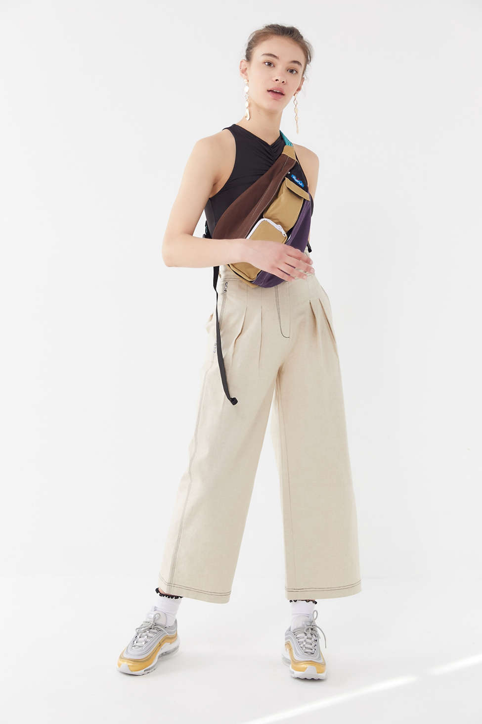 House Of Sunny L.A. Pleated Wide Leg Pant by House Of Sunny