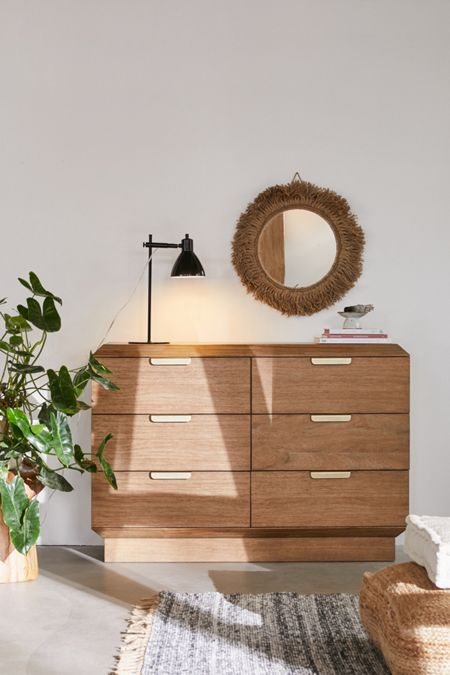 Finley 6 Drawer Dresser
