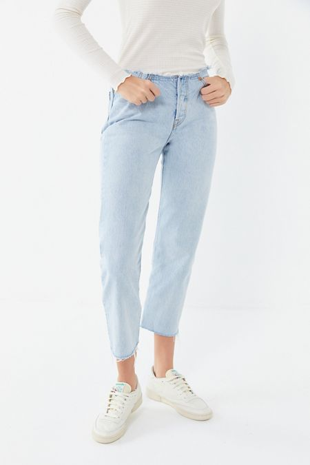 32bacf6465 Levi's 501 Customized Cropped Jean – Crescent Moon