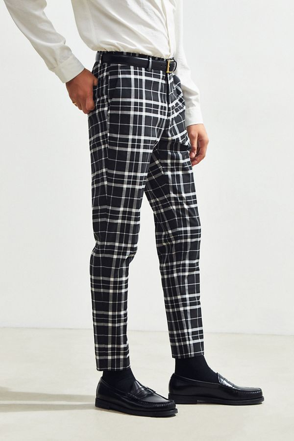 Beliebt UO Plaid Skinny Fit Suit Pant | Urban Outfitters YI83